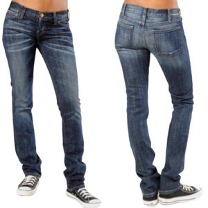 Current/Elliott Moody Straight Leg Jeans- 28